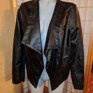 Avenue, faux leather jacket, NWTs, 18/20